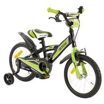 2Cycle BMX Kinderfiets - 14 inch - Groen-Zwart