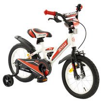 Kinderfiets 14 inch BMX rood-wit