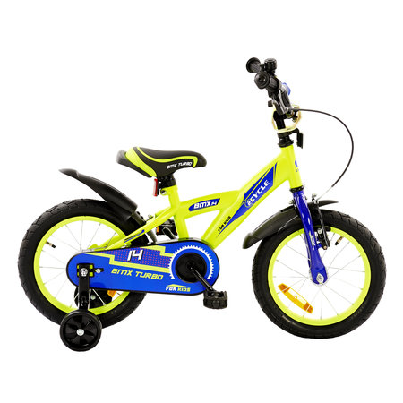 2Cycle 2Cycle BMX Kinderfiets - 14 inch - Geel