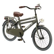 2Cycle Cargo Kinderfiets - 20 inch - Mat-Grijs