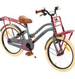 2Cycle 2Cycle Heart Meisjesfiets 20 inch grijs-roze (2087)
