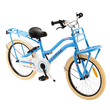 2Cycle 2Cycle Heart Meisjesfiets 20 inch blauw (2088)