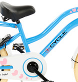 2Cycle 2Cycle Heart Kinderfiets - 18 inch - Voordrager - Blauw