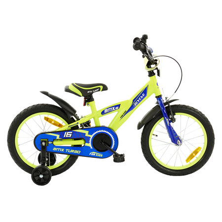2Cycle 2Cycle BMX Kinderfiets - 16 inch - Geel-Blauw