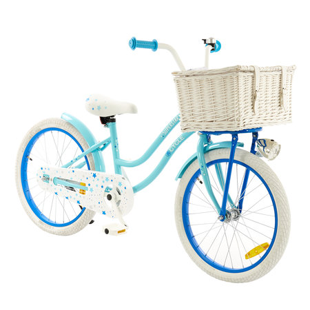2Cycle 2Cycle Superstar Kinderfiets - 20 inch - Voordrager - Blauw