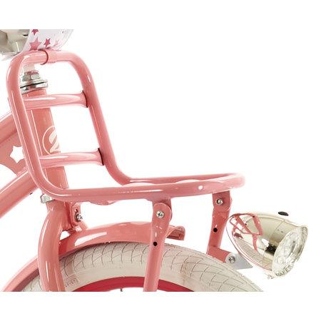 2Cycle Meisjesfiets 20 inch Superstar roze met Voordrager (20506)