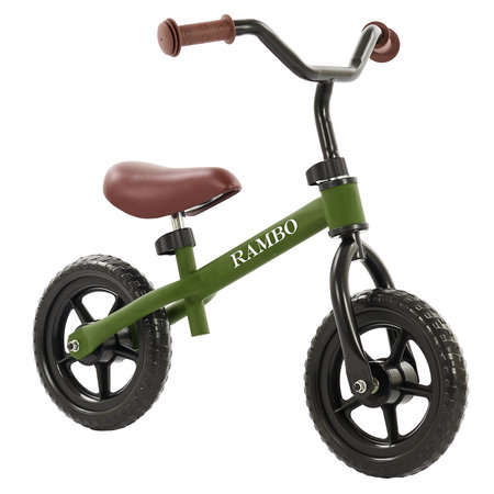2Cycle 2Cycle Rambo Laufrad - Matt-Grün