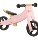 2Cycle 2Cycle 2 in 1 Loopfiets/Driewieler - Hout - Roze -2e