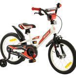 2Cycle 2Cycle BMX Kinderfiets - 16 inch - Wit-Rood