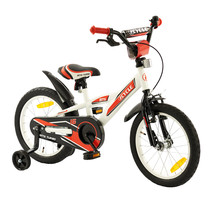 2Cycle BMX Kinderfiets - 16 inch - Wit-Rood