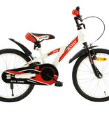 2Cycle 2Cycle BMX Kinderfiets - 18 inch - Wit-Rood