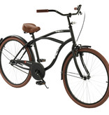 2Cycle 2Cycle Cruiser - 26 inch - Mat-Zwart