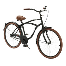 2Cycle Cruiser - 26 inch - Mat-Zwart