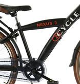 2Cycle 2Cycle Nexus-3-Jongensfiets-26-inch-mat-zwart