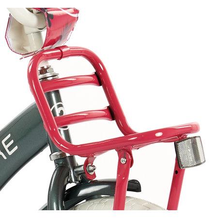 2Cycle 2Cycle Desire Kinderfiets - 16 inch - Grijs-Roze 2e keus