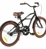2Cycle 2Cycle Cruiser Kinderfiets - 20 inch - Mat-Zwart -2e
