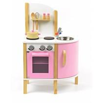 P&M  Moderne Kinderkeuken - Hout - Roze