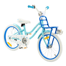 2Cycle Superstar Kinderfiets - 18 inch - Voordrager - Blauw