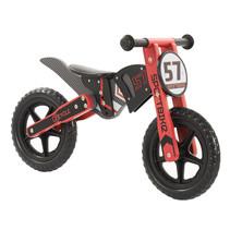 2Cycle Motor  Loopfiets - Hout - Rood