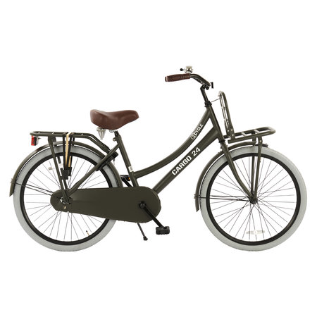 2Cycle 2Cycle Transportfiets - 24 inch - Mat-Grijs