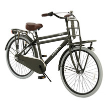 2Cycle Transportfiets - 26 inch - Mat-Grijs -3-Speed