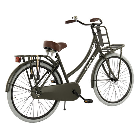 2Cycle 2Cycle Transportfiets - 26 inch - Mat-Grijs