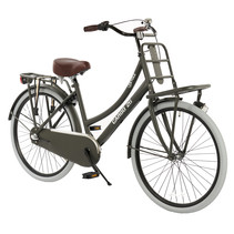2Cycle Transportfiets - 26 inch - Mat-Grijs - 3-Speed