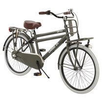 2Cycle Transportfiets - 24 inch - Mat-Grijs - 3-Speed