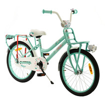 2Cycle Magic Kinderfiets - 20 inch - Voordrager - Turquoise