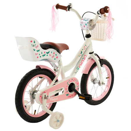 2Cycle 2Cycle Magic Kinderfiets - 14 inch - Wit