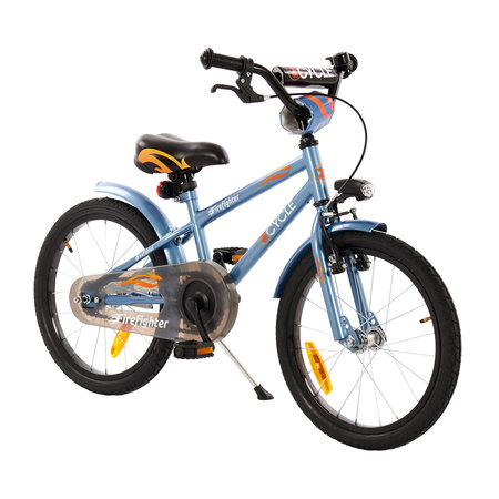 2Cycle 2Cycle Firefighter Kinderfiets - 18 inch - Blauw