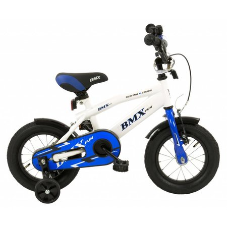 2Cycle 2Cycle BMX Kinderfiets - 12 inch - Wit -2e