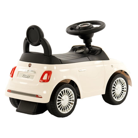 2Cycle Fiat 500 Loopauto - Wit