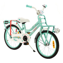 2Cycle Magic Kinderfiets - 18 inch - Voordrager - Turquoise