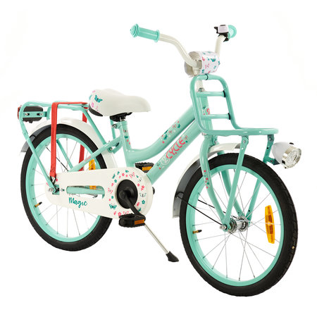 2Cycle 2Cycle Magic Kinderfiets - 18 inch - Voordrager - Turquoise