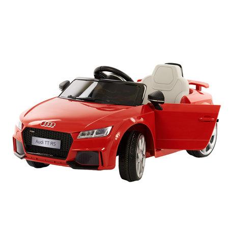 Audi Audi TT-RS Elektrische Kinderauto Rood