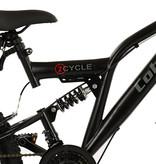 2Cycle 2Cycle Cobra MTB - 24 inch - 18-speed - Mat-Zwart