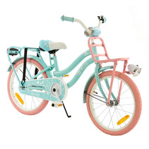 2Cycle Lovely Kinderfiets - 18 inch - Voordrager - Turquoise