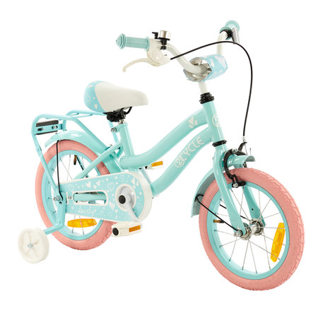 2Cycle 2Cycle Lovely Kinderfiets - 14 inch - Turquoise