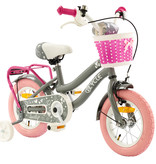 2Cycle 2Cycle Lovely - Kinderfiets - 12 inch - Grijs