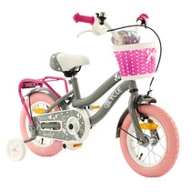 2Cycle Lovely - Kinderfiets - 12 inch - Grijs