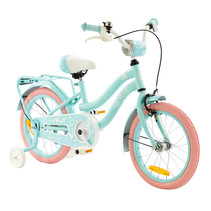 2Cycle Lovely Kinderfiets  -16 inch - Turquoise