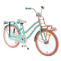 2Cycle Lovely Kinderfiets - 20 inch - Voordrager - Turquoise