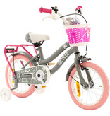 2Cycle 2Cycle Lovely Kinderfiets - 14 inch - Grijs