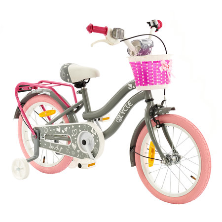 2Cycle 2Cycle Lovely Kinderfiets  -16 inch - Grijs