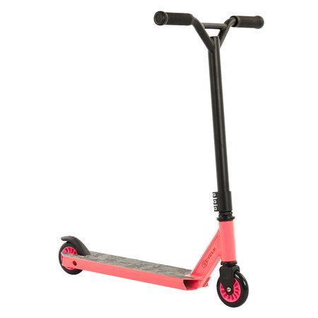2Cycle 2Cycle Stuntstep - Aluminium -  ABEC 7 - Roze