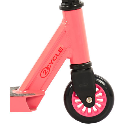 2Cycle 2Cycle Stunt Scooter - Aluminium - ABEC 7 - Rosa