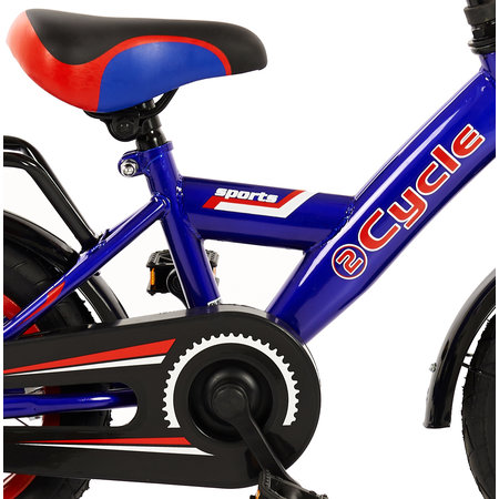 2Cycle 2Cycle Sports Kinderfiets - 12 inch - Blauw