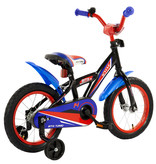 2Cycle Kinderfiets 14 inch BMX blauw-rood (1433)