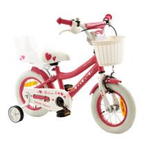 2Cycle Sweet Kinderfiets - 12 inch - Poppenzitje - Roze